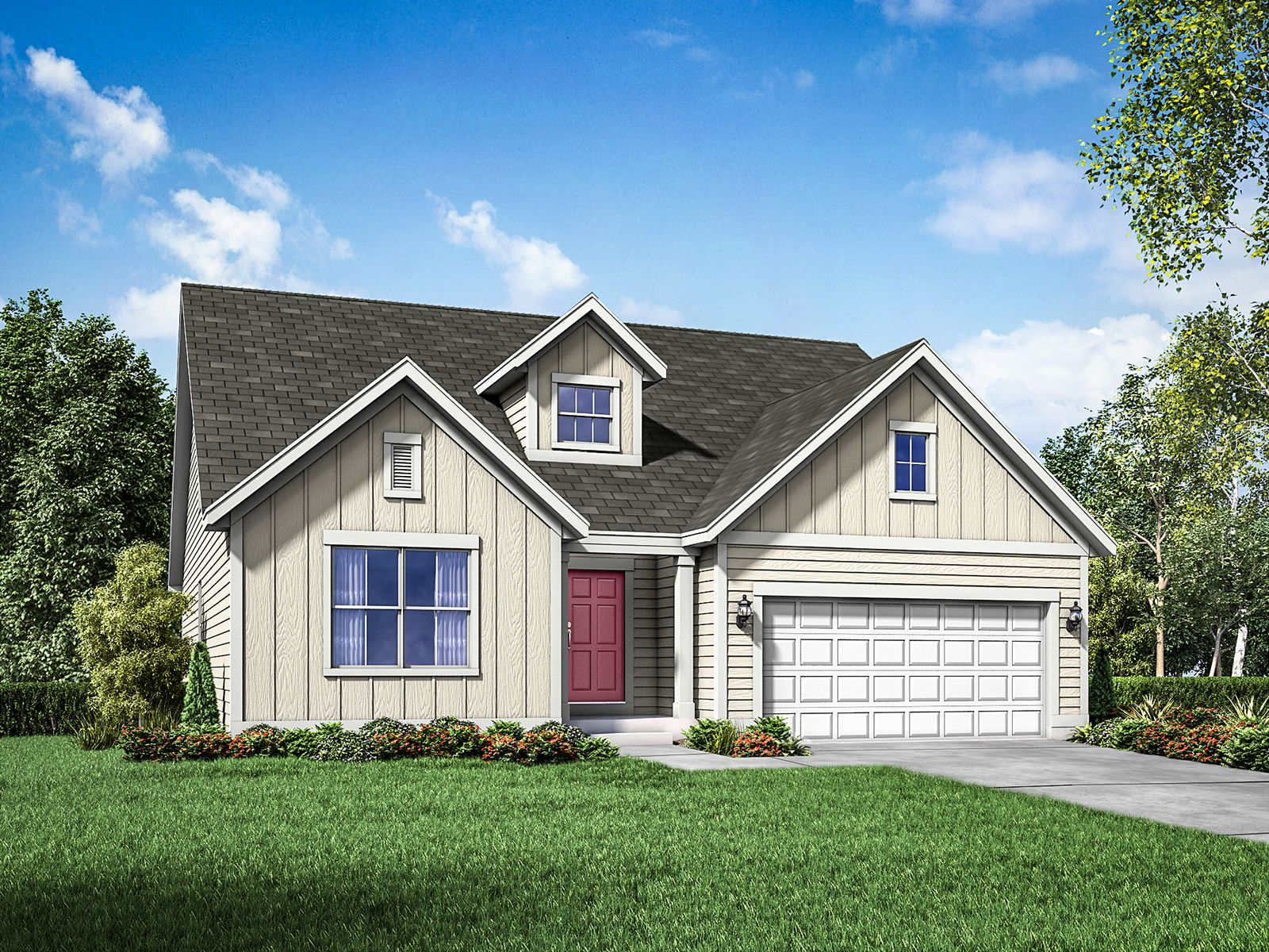 Exterior featured in the Cape May By William Ryan Homes in Milwaukee-Waukesha, WI