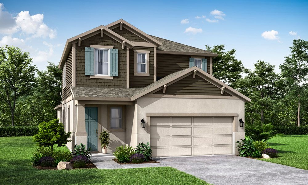 Exterior featured in the Sandhill By William Ryan Homes in Lakeland-Winter Haven, FL