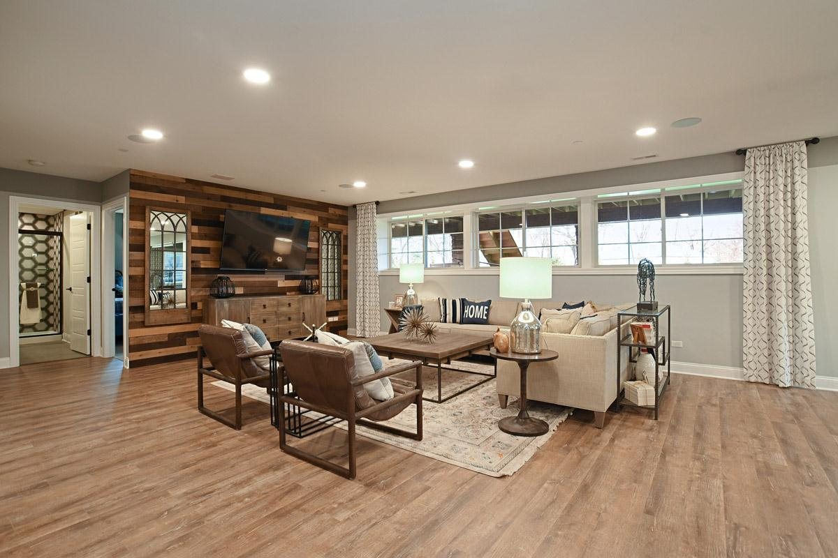 Living Area featured in the Plan 3000 By North Shore Builders in Chicago, IL