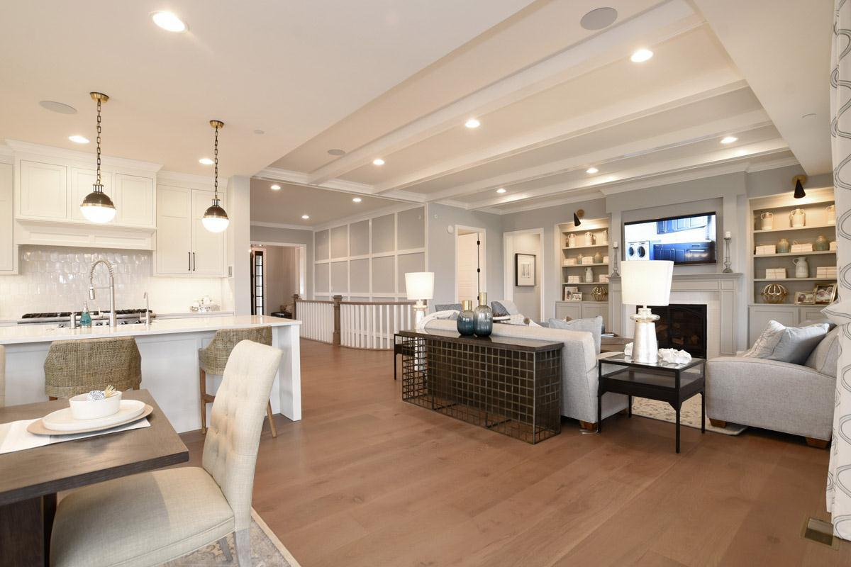 Living Area featured in the Plan 2300 By North Shore Builders in Chicago, IL