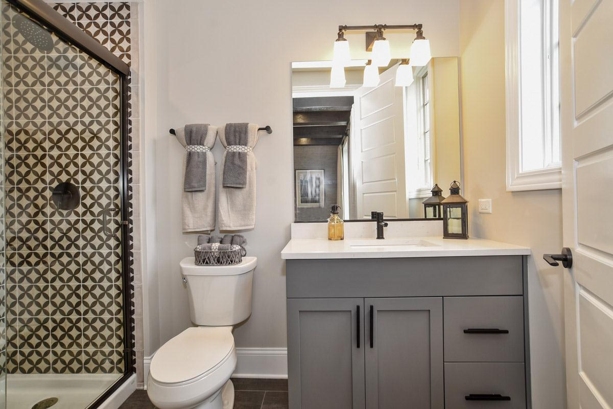 Bathroom featured in the Plan 2300 By North Shore Builders in Chicago, IL
