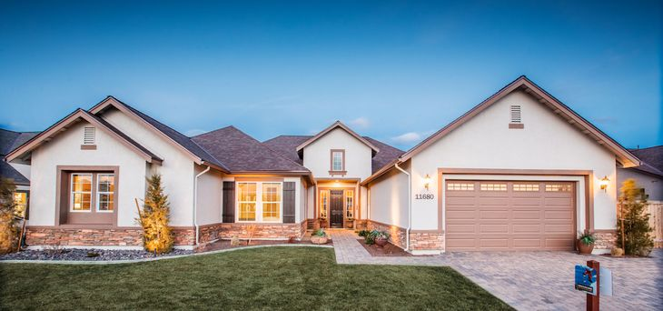 Plan 5 :Discover home starting in the low $400s!