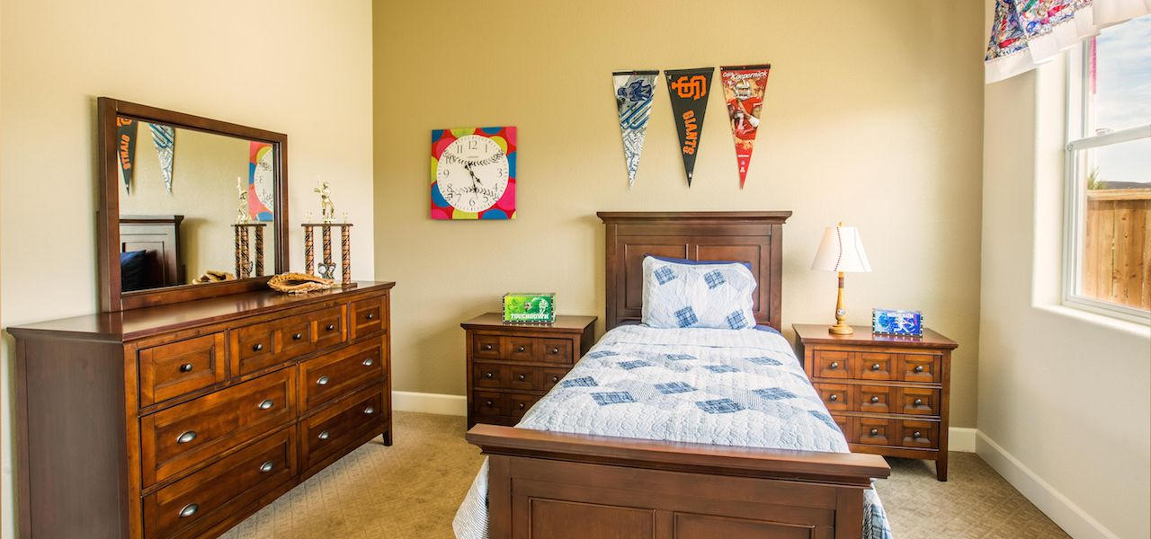 Bedroom featured in the Plan 1 By Ryder Homes in Reno, NV