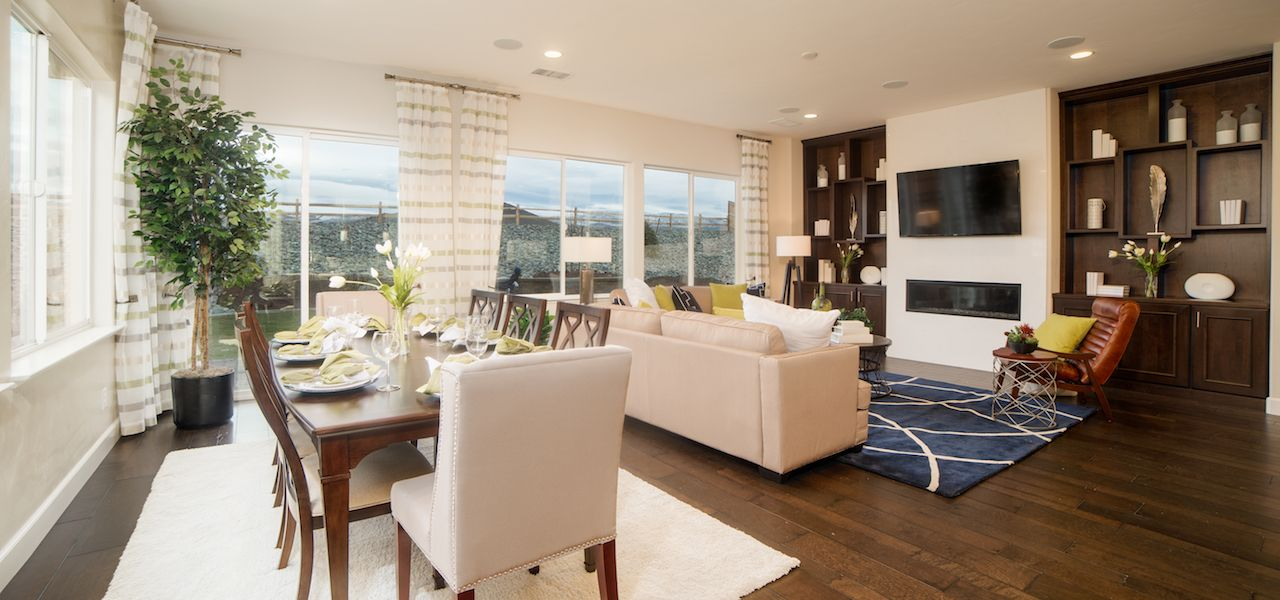 Living Area featured in the Plan 4 By Ryder Homes in Reno, NV