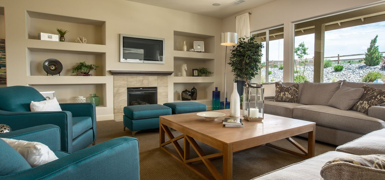 Living Area featured in the Plan 5 By Ryder Homes in Reno, NV