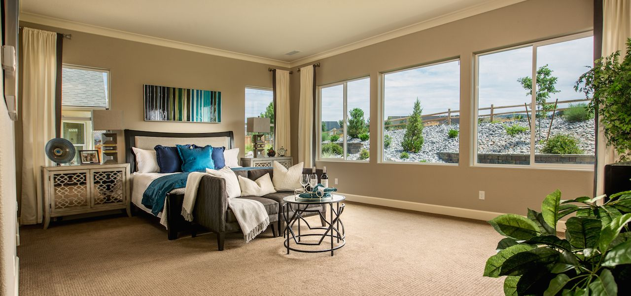 Bedroom featured in the Plan 5 By Ryder Homes in Reno, NV