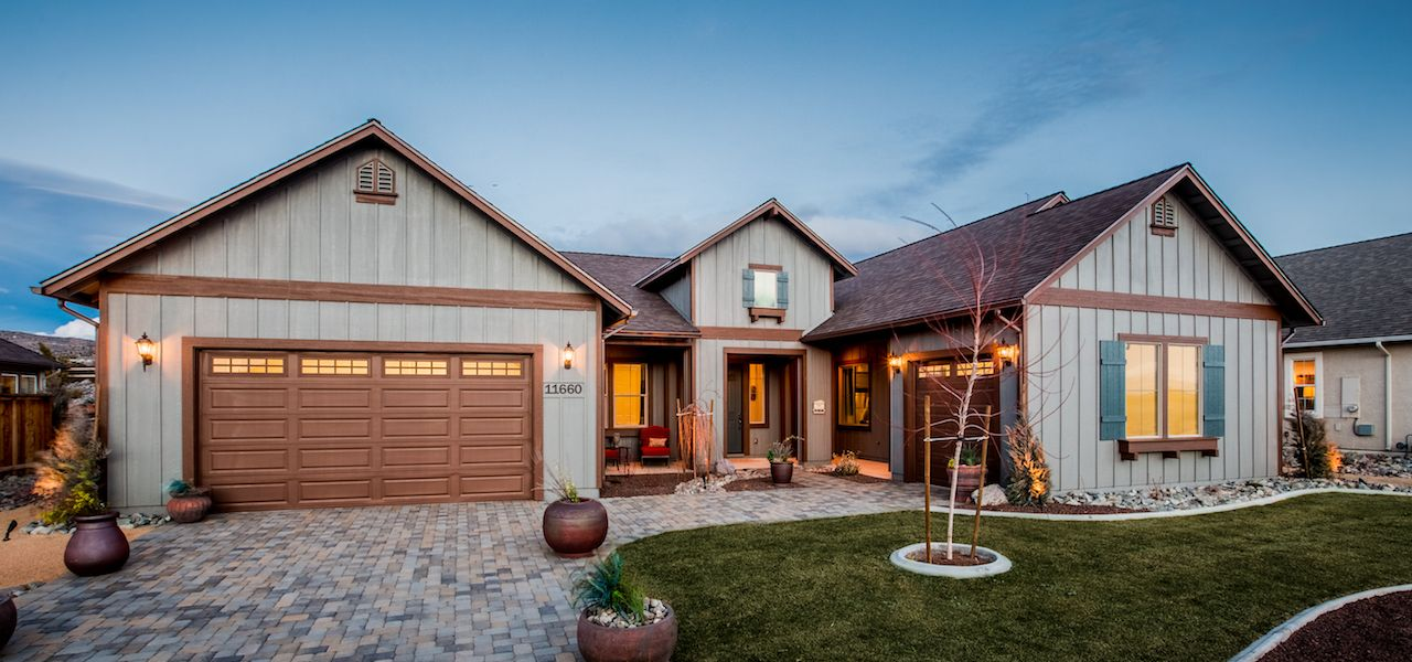 Exterior featured in the Plan 6 By Ryder Homes in Reno, NV