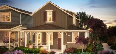 Plan 1 - Hamilton Cottages: Novato, California - Ryder Homes