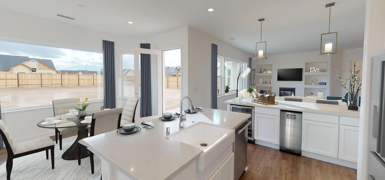 Kitchen featured in the Plan 2 By Ryder Homes in Reno, NV