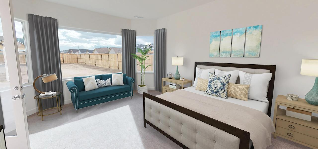 Bedroom featured in the Plan 2 By Ryder Homes in Reno, NV