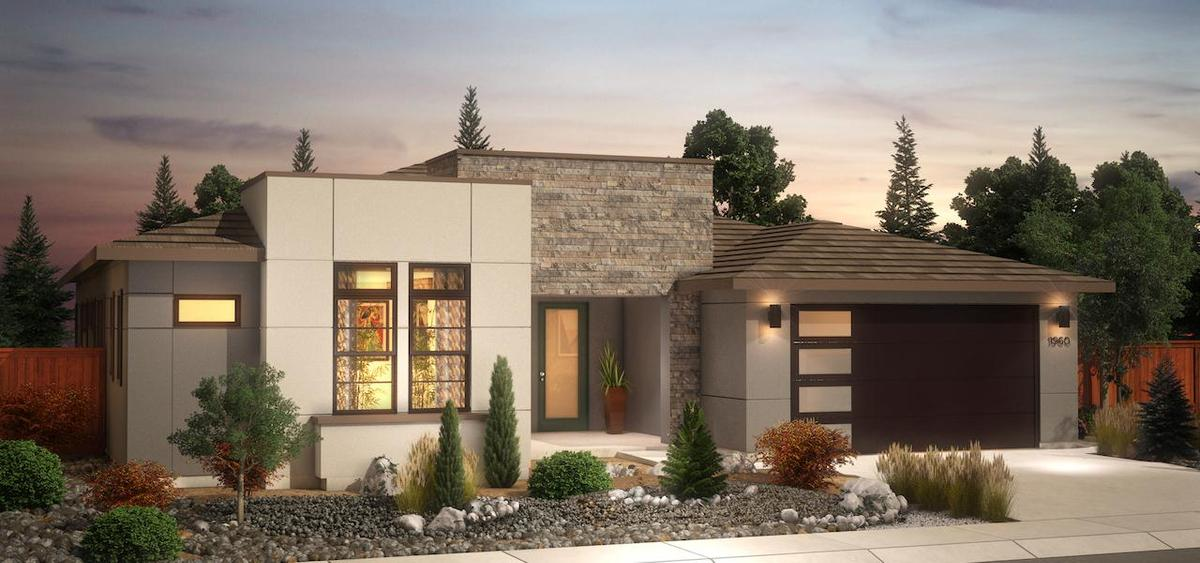 Plan 1 Desert Contemporary