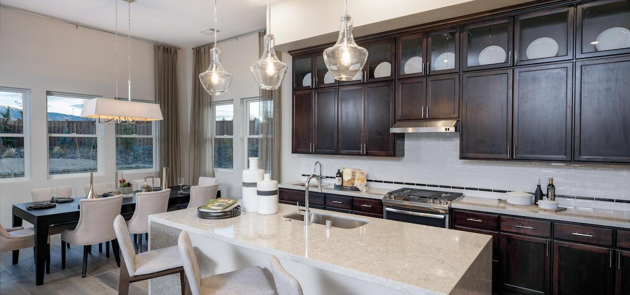 Kitchen featured in the Plan 1 By Ryder Homes in Reno, NV