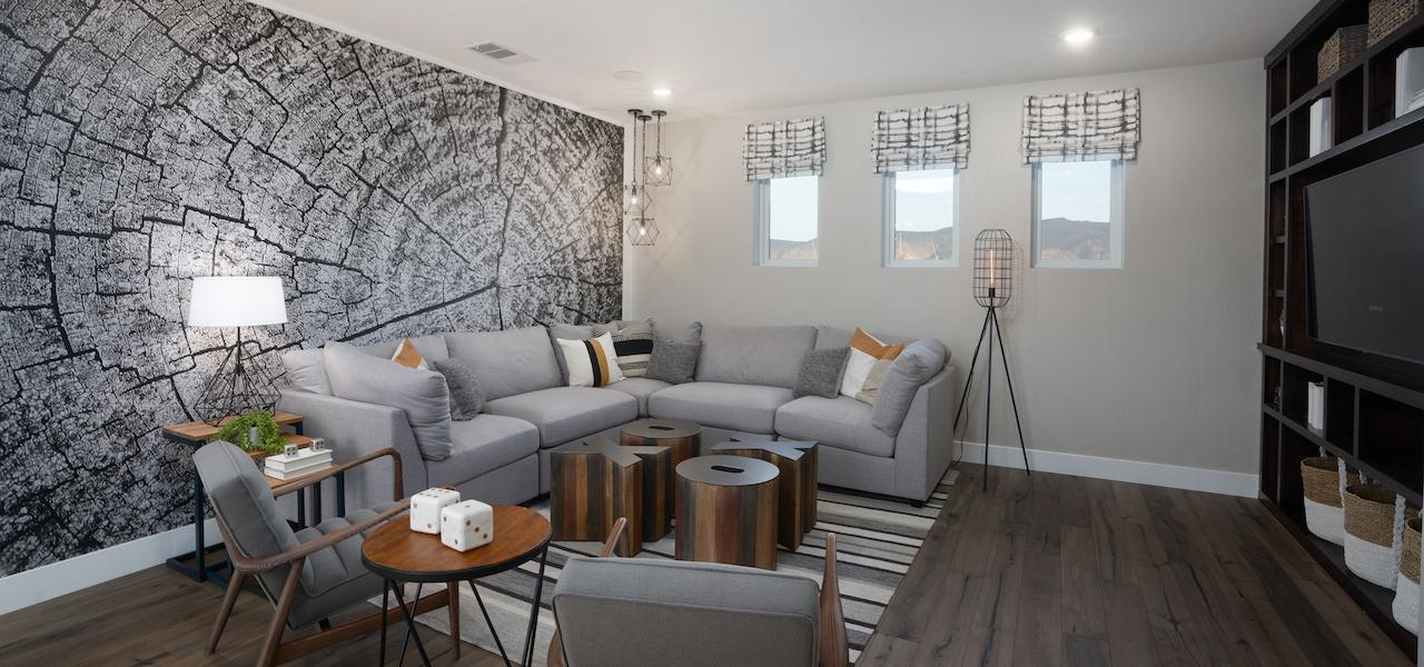 Living Area featured in the Plan 3 By Ryder Homes in Reno, NV