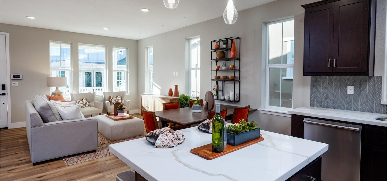 Living Area featured in the Plan 3 By Ryder Homes in San Francisco, CA