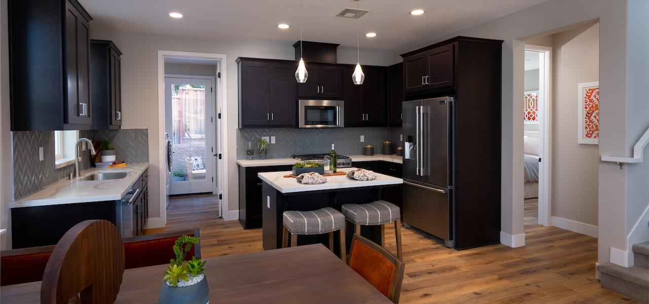Kitchen featured in the Plan 3 By Ryder Homes in San Francisco, CA