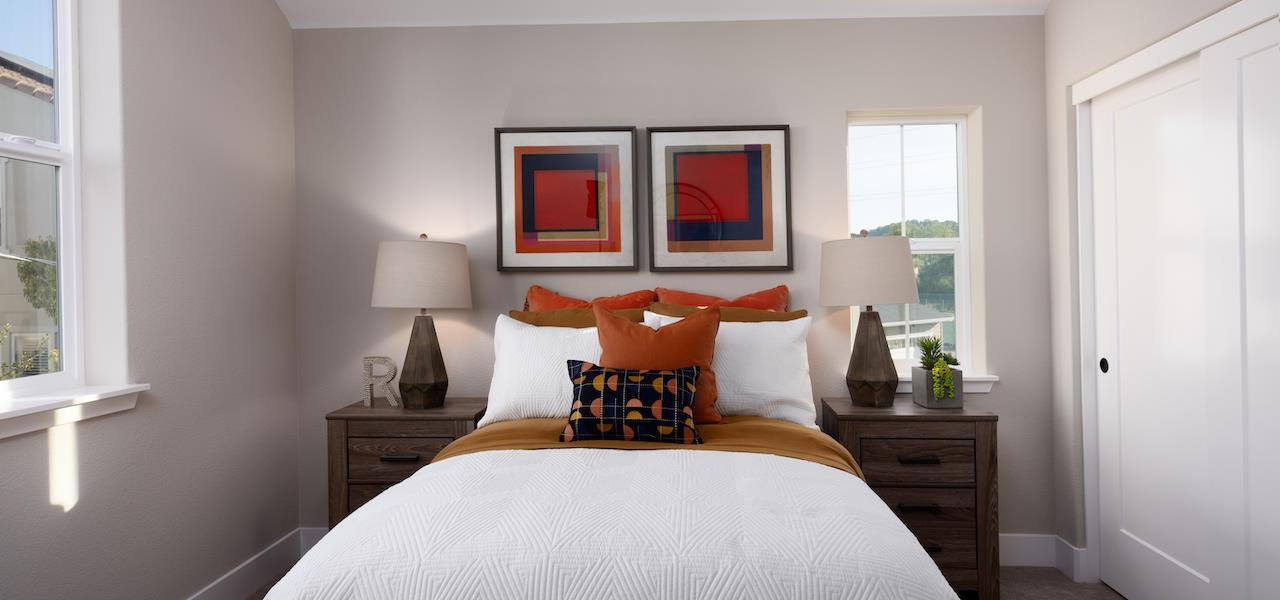 Bedroom featured in the Plan 3 By Ryder Homes in San Francisco, CA