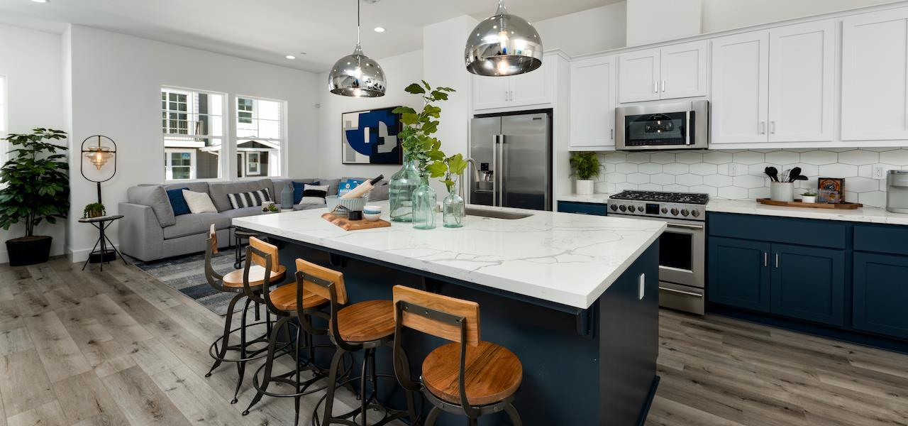 Kitchen featured in the Plan B By Ryder Homes in Santa Cruz, CA
