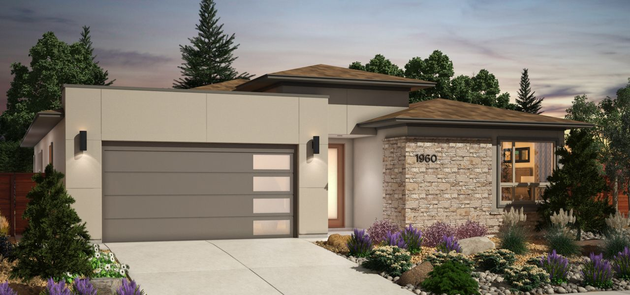 Exterior featured in the Plan 1 By Ryder Homes in Reno, NV