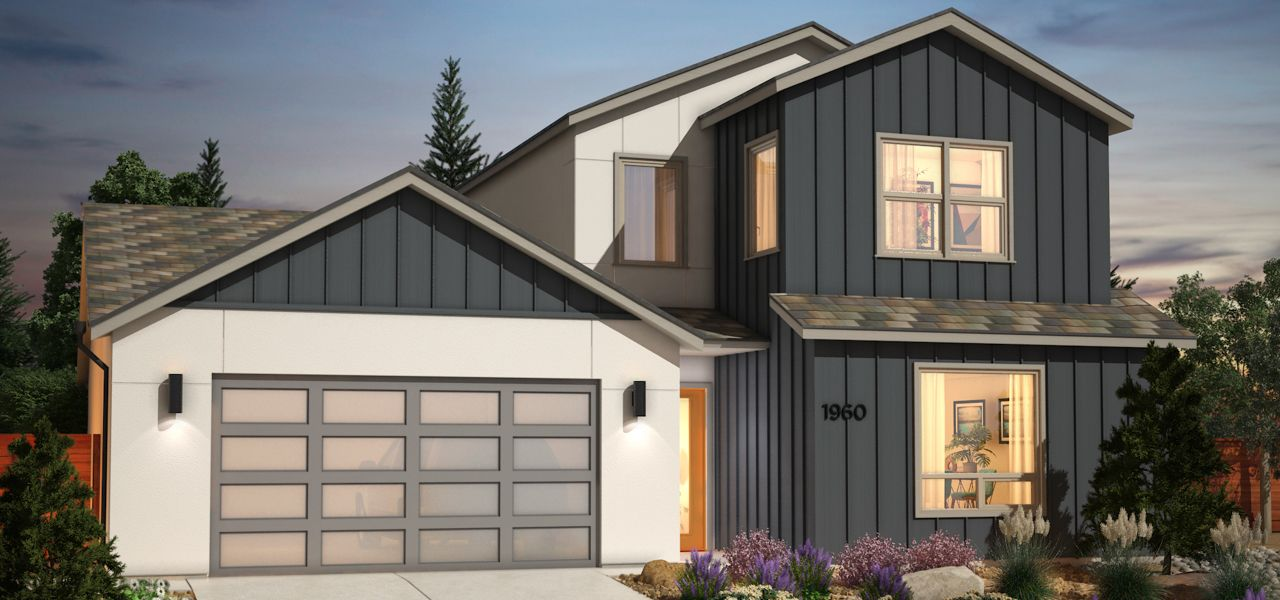 Exterior featured in the Plan 1X By Ryder Homes in Reno, NV
