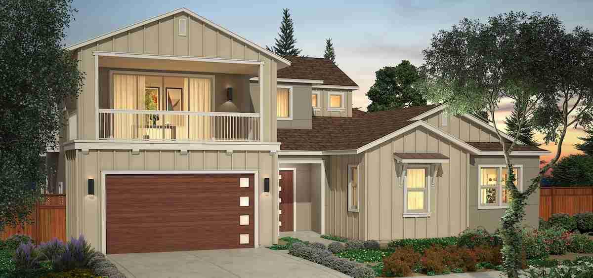 Plan 1X - Homesite 3