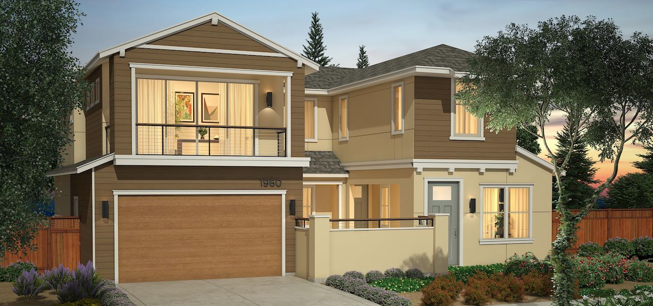Exterior featured in the Plan 2 By Ryder Homes in San Francisco, CA