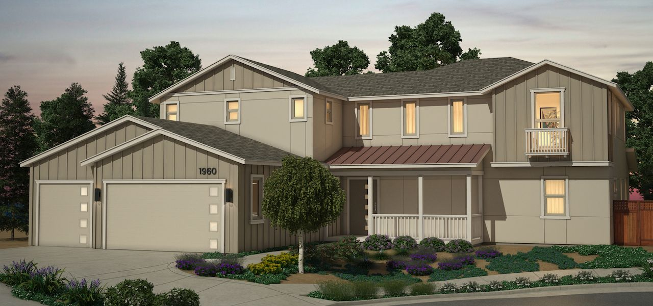 Exterior featured in the Plan 3 By Ryder Homes in San Francisco, CA
