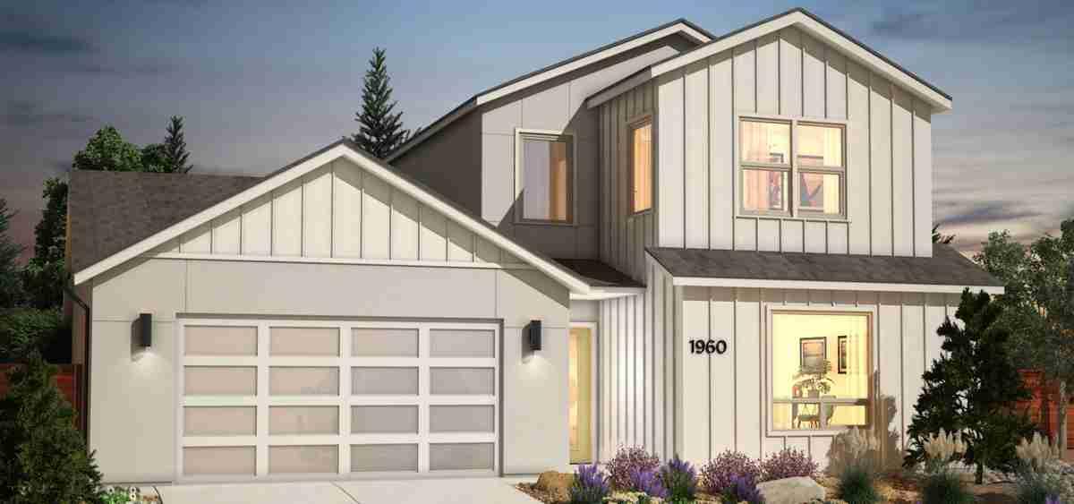 Plan 1X - Modern Farmhouse