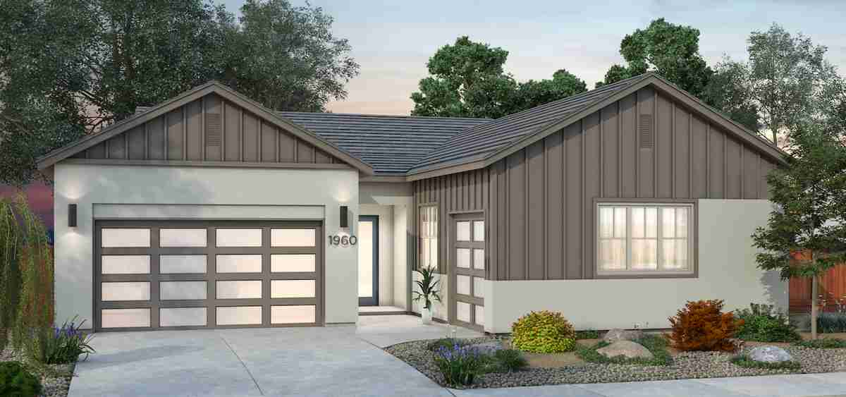 Plan 3 - Farmhouse Elevation