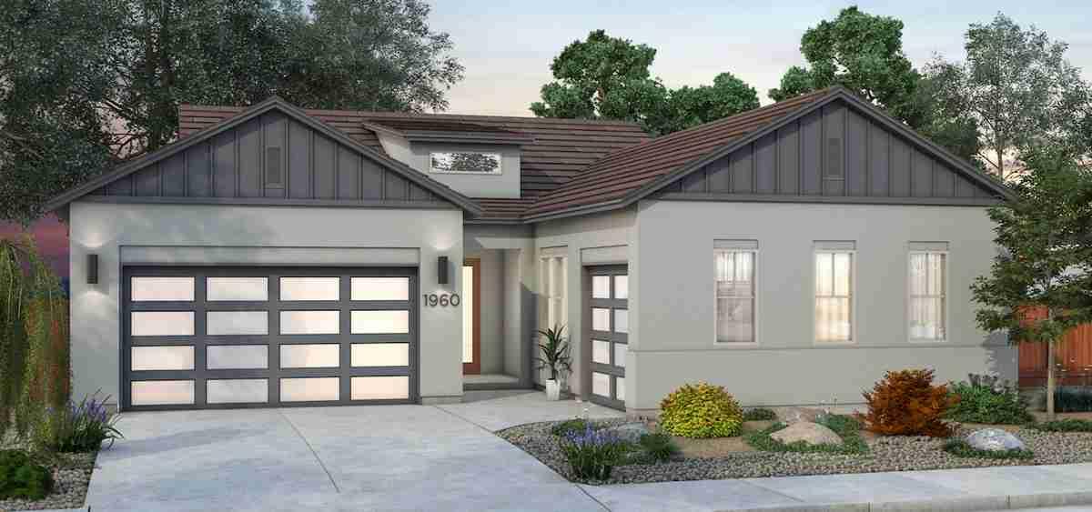 Plan 4 - Farmhouse Elevation