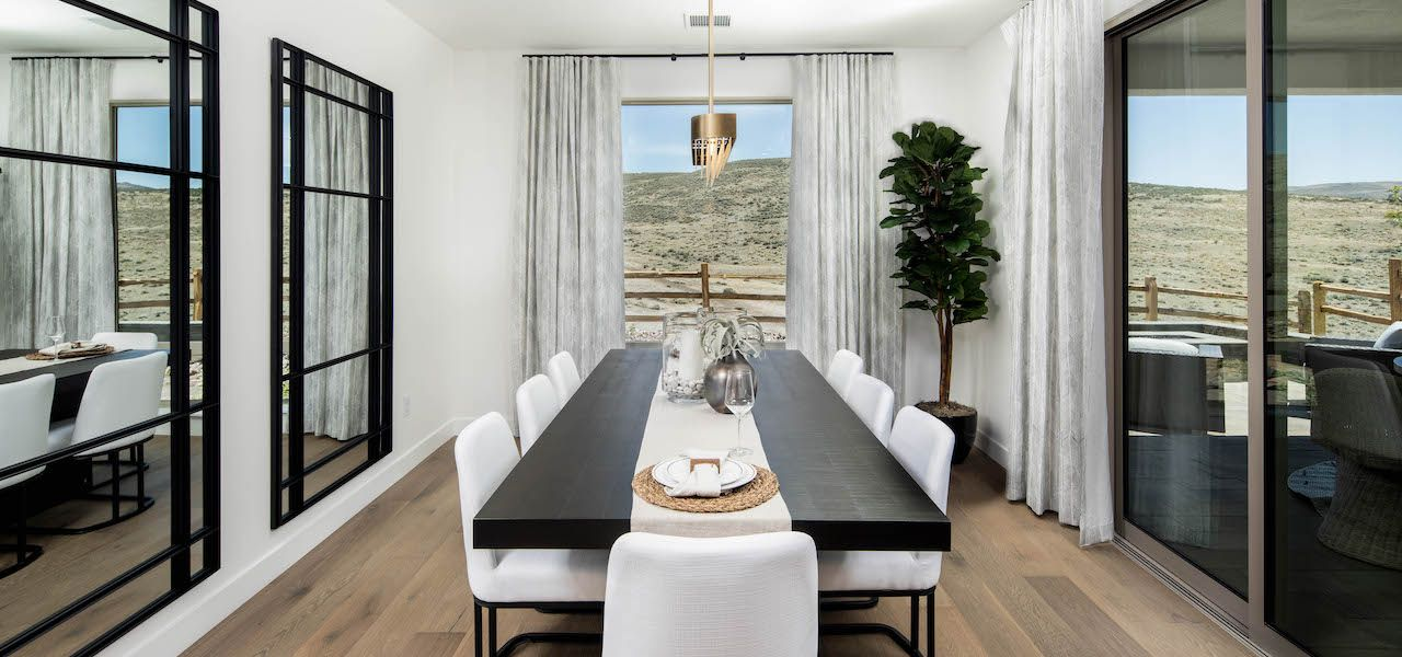 Living Area featured in the Plan 1X By Ryder Homes in Reno, NV