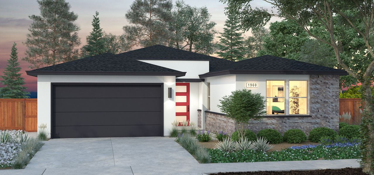 Exterior featured in the Plan 1 By Ryder Homes in Santa Rosa, CA