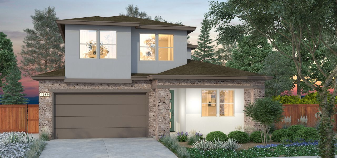 Exterior featured in the Plan 2 By Ryder Homes in Santa Rosa, CA