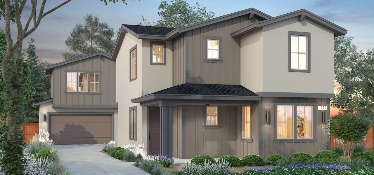 Exterior featured in the Plan 4 By Ryder Homes in Santa Rosa, CA