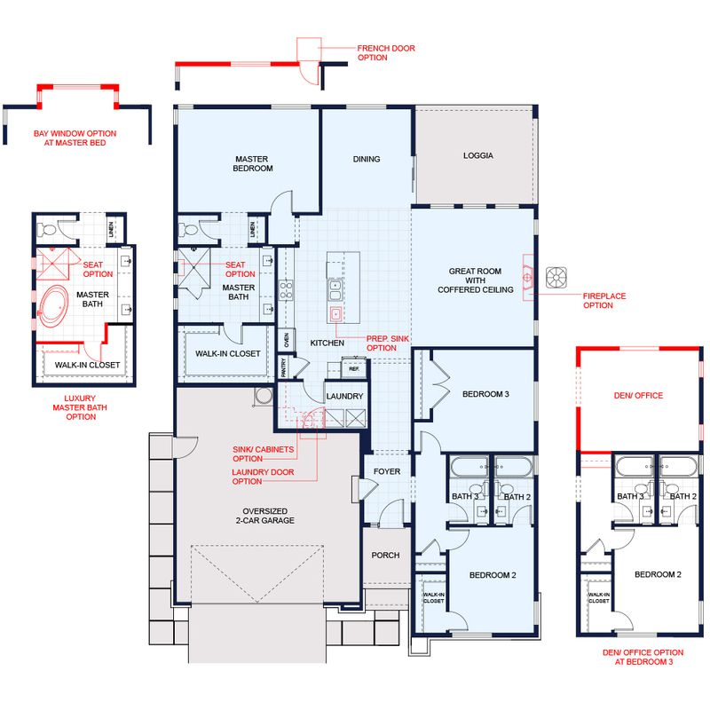 Plan 3 Contempo Floor Plan