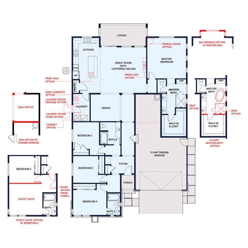 Plan 4 Reflection Floor Plan