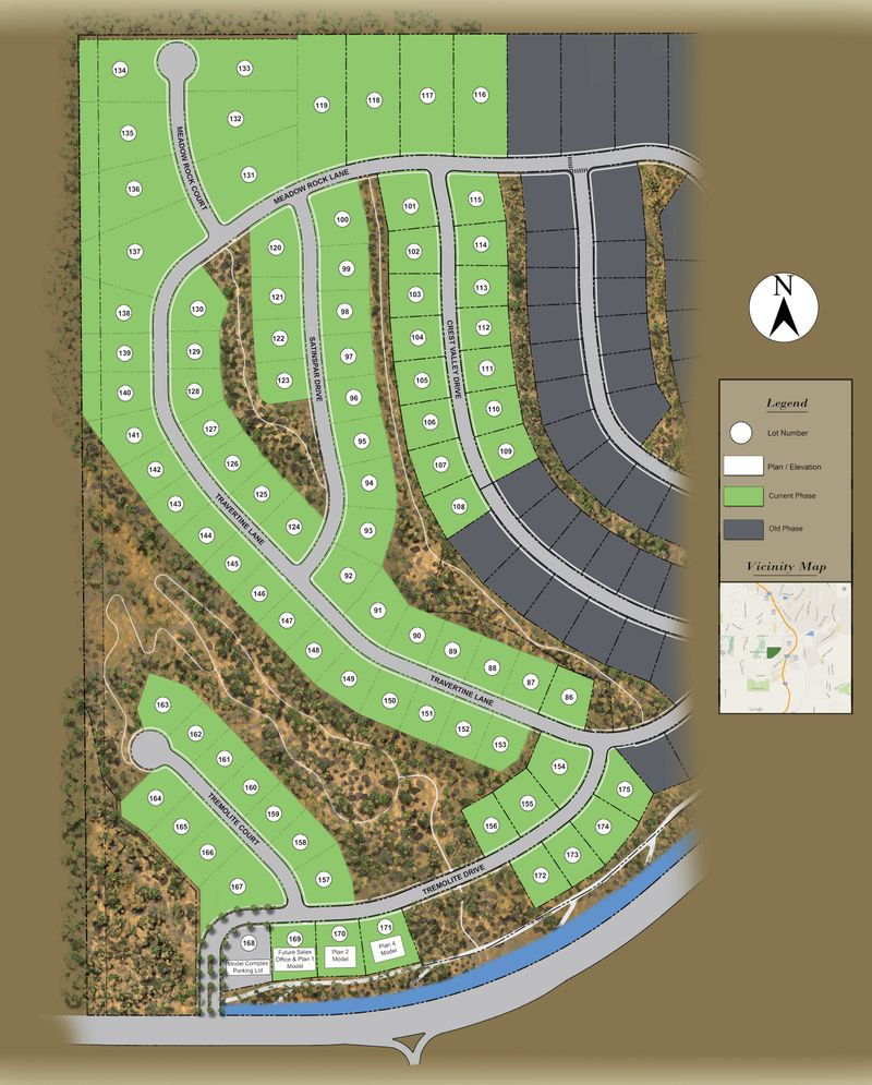 Dynamic Sitemap: Mountaingate In Reno, NV By Ryder Homes
