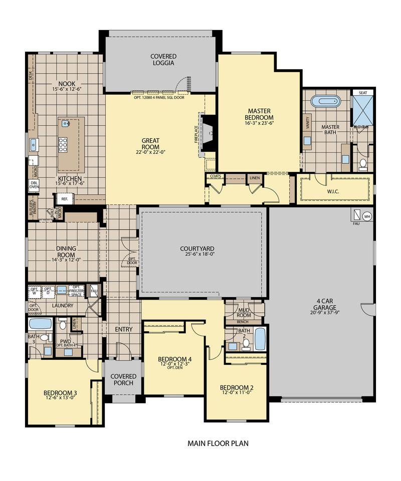 Plan 2 Floor Plan