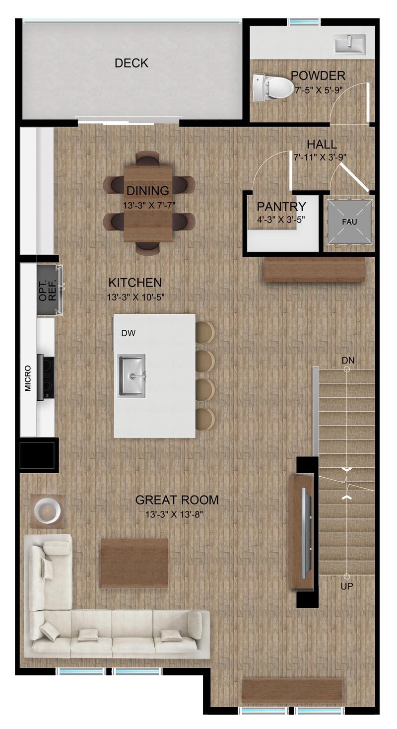 Plan B | Second Floor