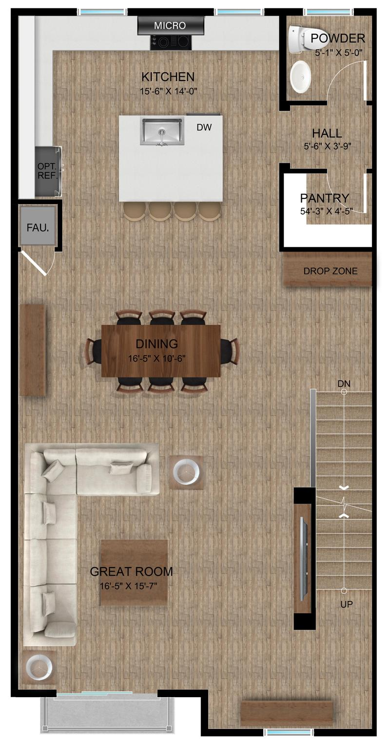 Plan C | Second Floor