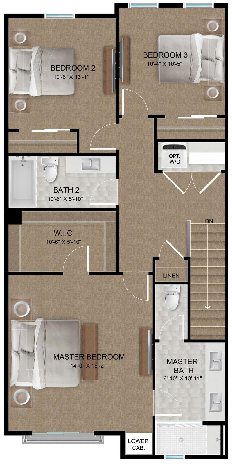 Plan C | Third Floor