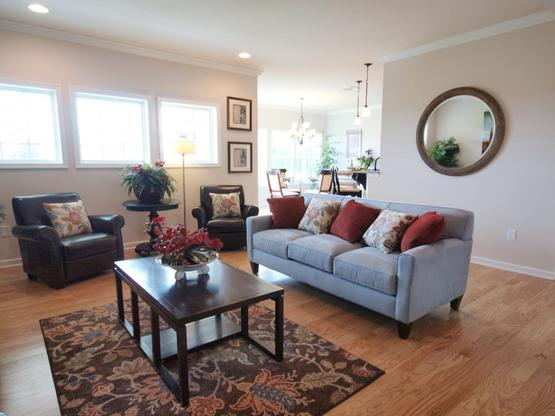 Ridgefield Townhome:Family Room