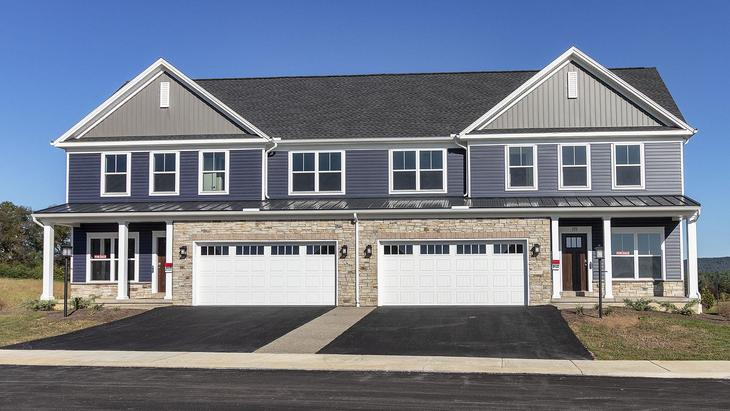 The Hartsfield at Kingston Village:Front elevation 1
