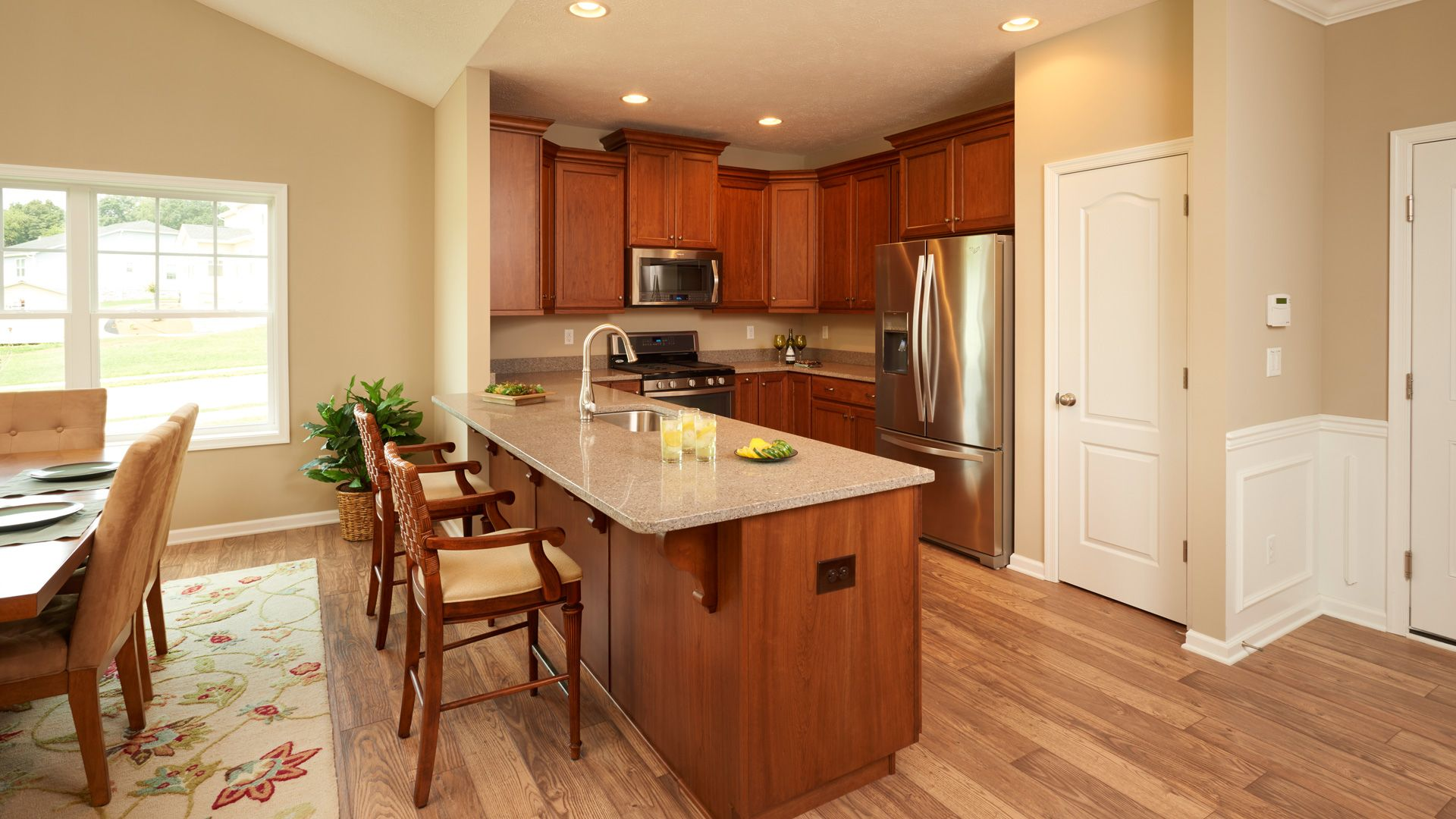 Kitchen featured in the Aspen By S & A Homes in State College, PA