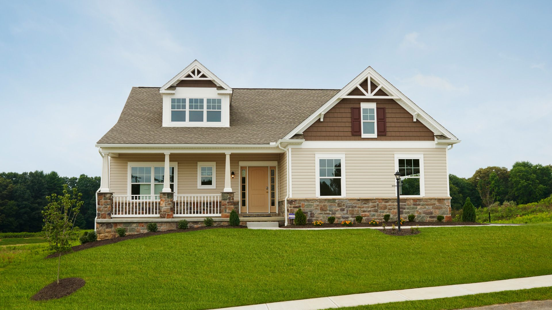 Exterior featured in the Aspen By S & A Homes in State College, PA