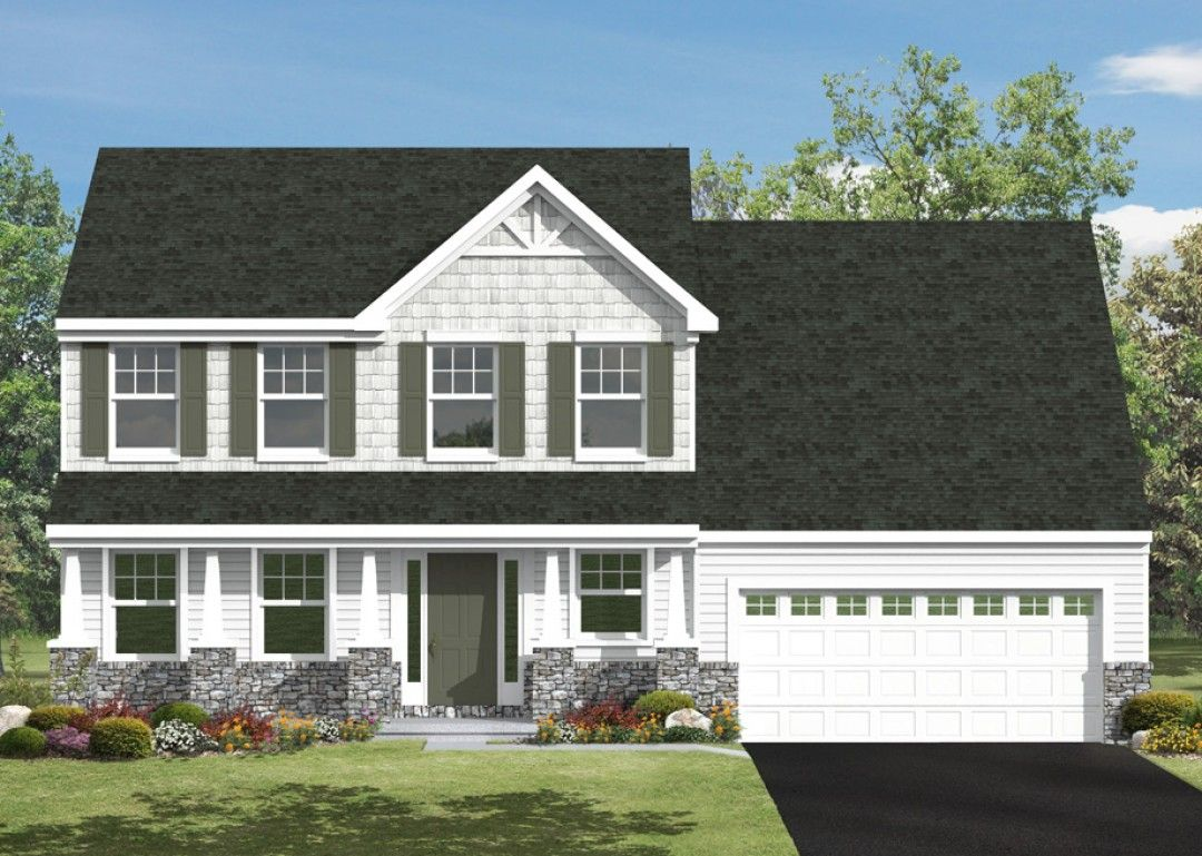 Exterior featured in the Brynmar By S & A Homes in Harrisburg, PA