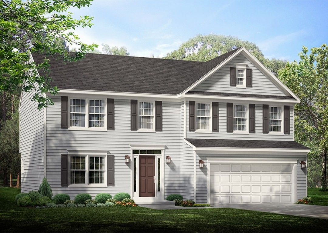 Exterior featured in the Dartmouth  By S & A Homes in State College, PA