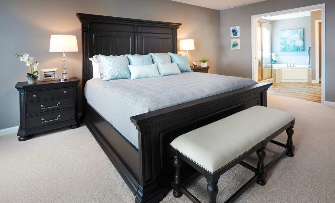Bedroom featured in the Dartmouth  By S & A Homes in State College, PA