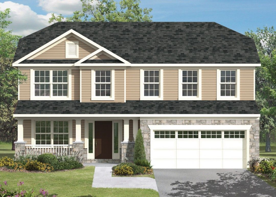 Exterior featured in the Greenwood  By S & A Homes in Altoona, PA