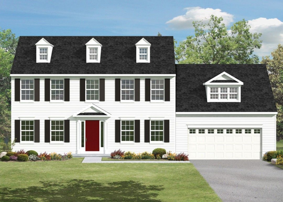 Exterior featured in the Hawthorne By S & A Homes in Harrisburg, PA