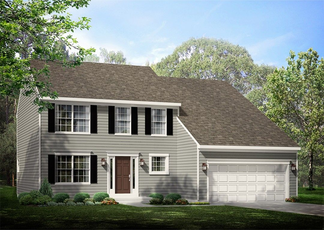 Exterior featured in the Newport By S & A Homes in Harrisburg, PA